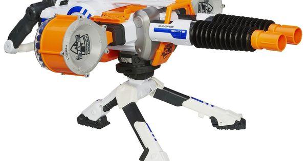 Amazon Com Nerf N Strike Elite Rhino Fire Blaster Toys