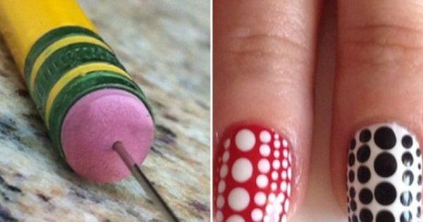 6 Clever Nail Art Tools.