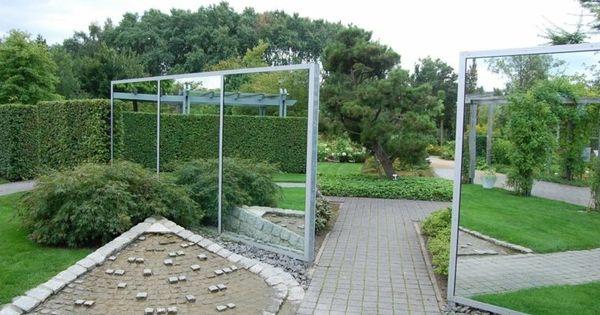miroir de jardin comment l 39 utiliser pour une d co originale d co et comment. Black Bedroom Furniture Sets. Home Design Ideas