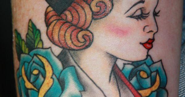 pin up nurse tattoo ideas for women | Beautiful nurse tattoo–would you