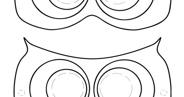 Printable Owl Mask - Coolest Free Printables Don't forget ...