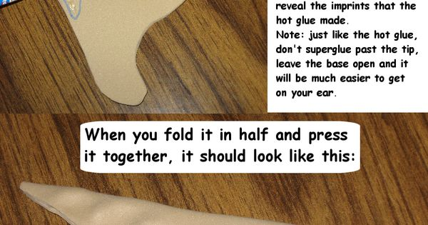 This is a great elf ear tutorial I found on deviant art