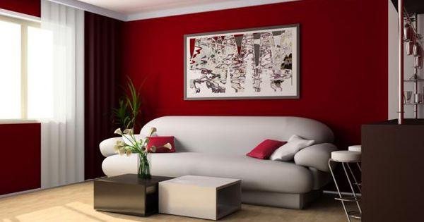 Consejos para la decoraci n de interiores en rojo for Consejos para decoracion de interiores