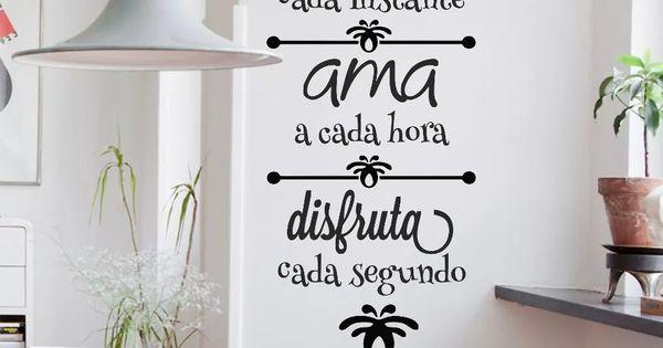 Vinilos decorativos de pared frases personalizados y m s - Vinilos decorativos bilbao ...
