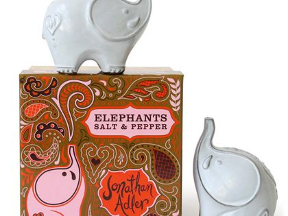 Jonathan adler elephant salt pepper shakers tabletop pinterest salt pepper shakers - Jonathan adler salt and pepper ...