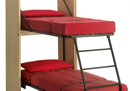 lit escamotable 10 id es ing nieuses pour optimiser l. Black Bedroom Furniture Sets. Home Design Ideas