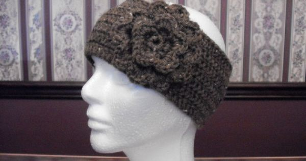 Crochet Hair For Adults : Teen Adult Size Barley Ear Warmer Crocheted by MarlowsGiftCottage, $14 ...