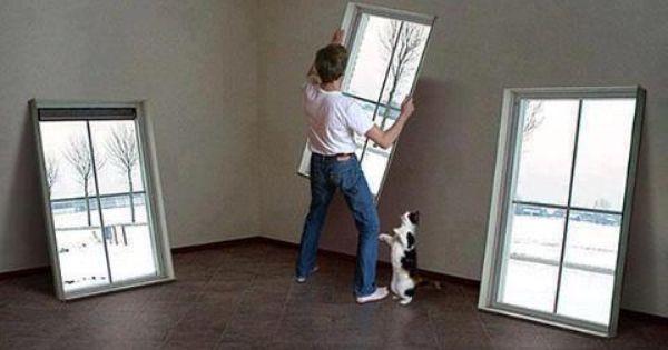 Fake Window For Office : Faux windows windowless office pinterest window