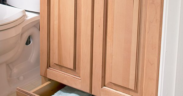 Brilliant inverting a kitchen base cabinet reduced depth for Kitchen cabinet depth lower