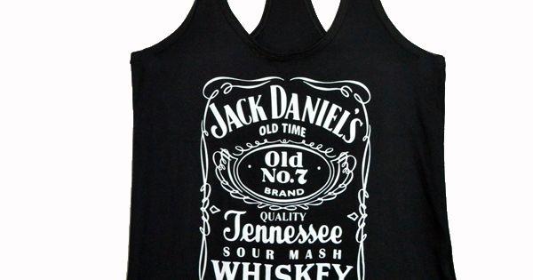 Jack Daniels shirt + Jean shorts