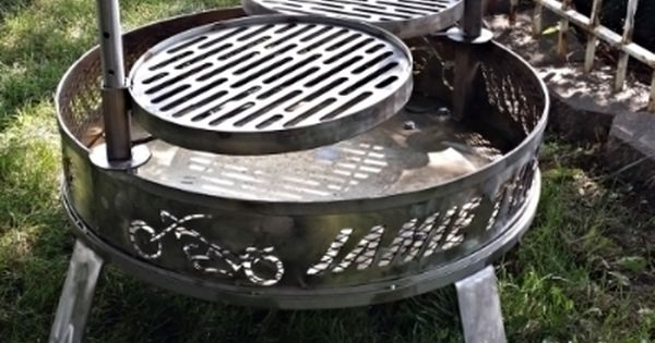Stainless Steel Fire Pit Ring Liners Inserts Spark Screens