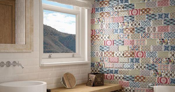 Id al comme carrelage mural salle de bains ou cuisine le for Ou est la salle de bain
