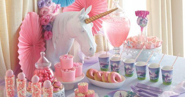 D Coration Anniversaire Fille Licorne Unicorn Decoration Annif Th Me Pinterest Licornes