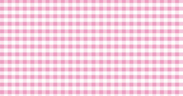Pink Gingham Fabric By Little Fish On Spoonflower Custom