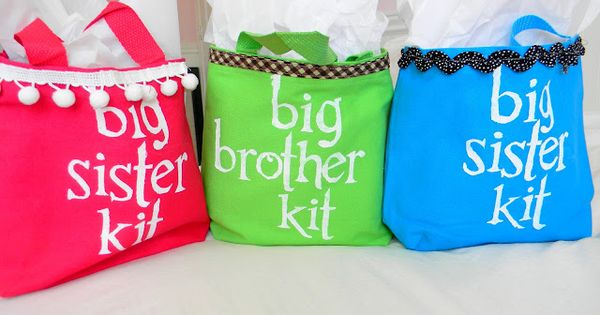 Big Sibling Kit.. make a new big brother or big sister feel