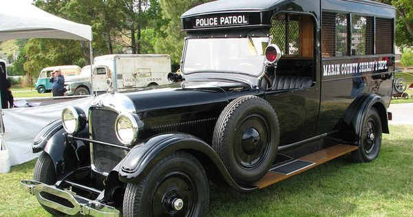 1925 Studebaker: Marin County Sherrif's Department Police Paddy Wagon
