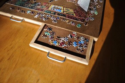 4 drawer puzzle board fun learning ideas pinterest puzzle board board and woodworking - Puzzle boards with drawers ...
