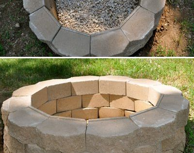 Diy Project How To Build A Back Yard Fire Pit Super Easy
