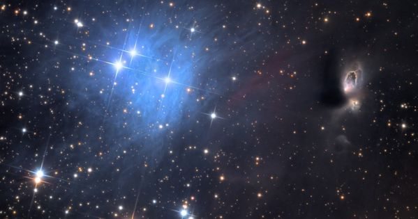 Reflection Nebula vdB1. Every book has a first page and every catalog