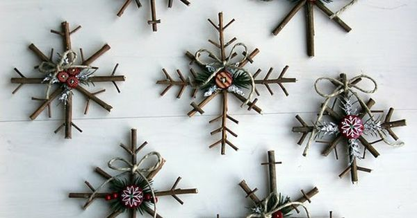 23 Homemade Christmas Ornaments | Christmas Decorating Ideas DIY Projects | Crafts
