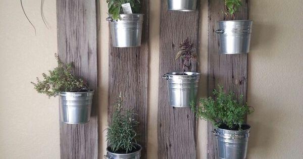 10 id es de d coration magnifiques avec des plantes jardins herbes aromatiques et cuisines. Black Bedroom Furniture Sets. Home Design Ideas