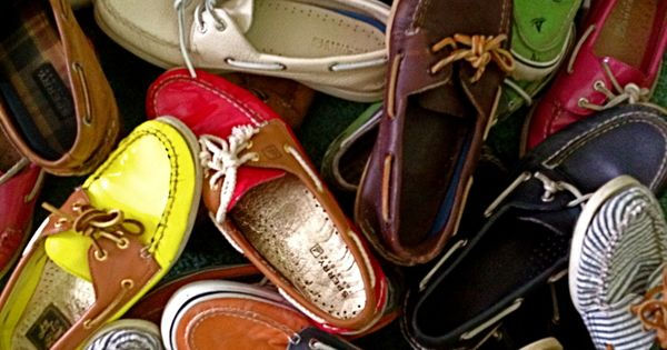 Boat shoes... Perfect summer accessory!