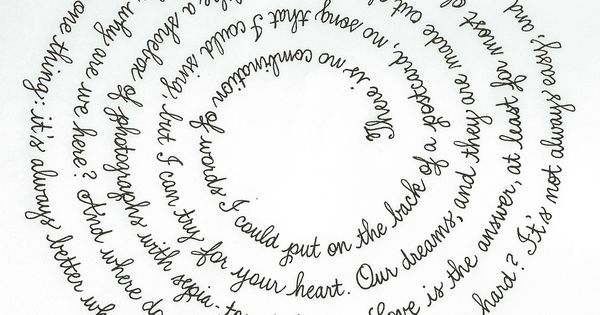 Song Quot Better Together Quot By Jack Johnson Black Gel Pen On