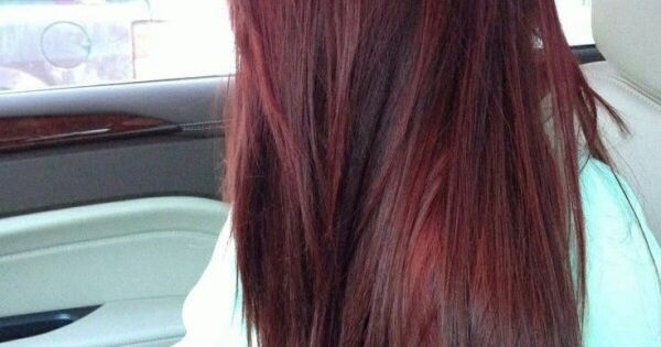 Dr Pepper Colored Hair I Want It Hair Ideas
