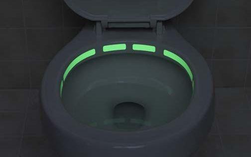 #toilet glowinthedark