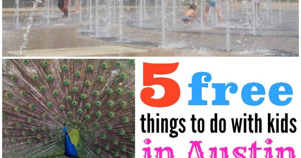 Road Trip 5 Free Things To Do With Kids In Austin Free