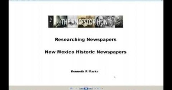Researching about american newspapers
