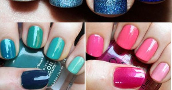 really cool ombre nails ideas
