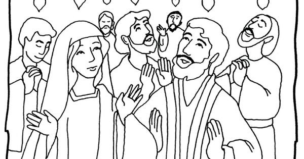free coloring pages about pentecost - photo#17