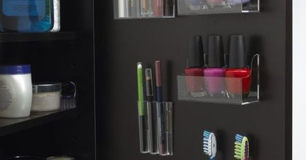 bathroom cabinet door organization - unfortunately I dont have any medicine cabinets