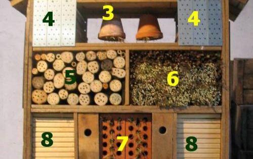 insektenhotel welches tier mag was diy garten fr hling garten pinterest insektenhotel. Black Bedroom Furniture Sets. Home Design Ideas