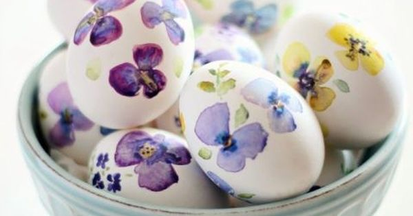 60 easy and beautiful ways to decorate your easter eggs Creative easter egg decorating ideas