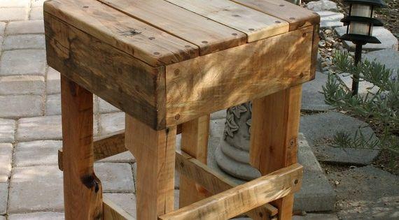 Fotos de muebles de madera reciclados muchas ideas - Taburetes de madera rusticos ...