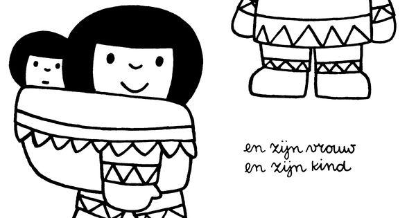 kleurplaat eskimo st ideas