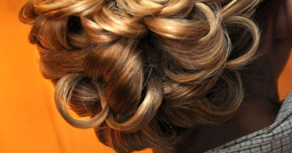 Wedding Hair Ideas via Up-Do's For I Do's