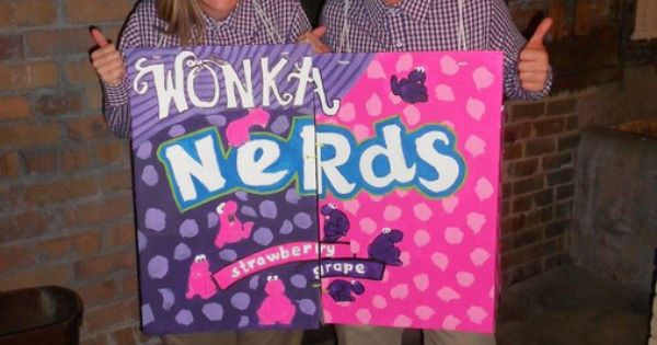 Two Nerds - DIY Halloween costume idea for couples Halloween halloweencostumes
