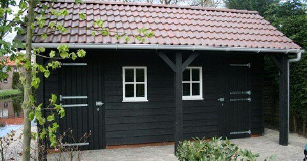 Schuur bekleed met zwarte vlotdelen 25 275 mm bouwen buiten pinterest verandas gardens - Arbor pergola goedkoop ...