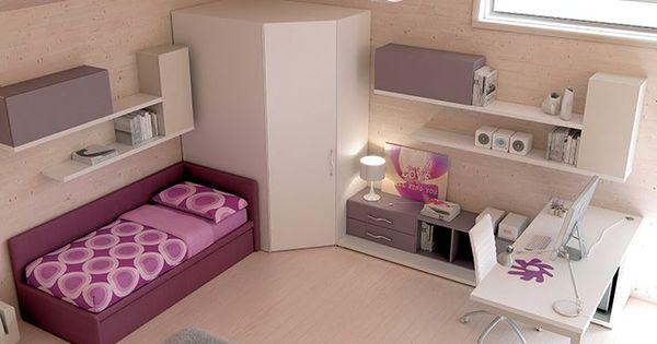 Arredamento cameretta cabina armadio wide in frassino for 20 x 32 cabina con soppalco