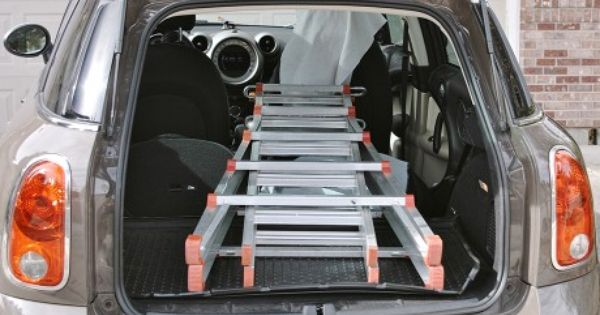 Car Boot 3 BIKE CYCLE CARRIER RACK To Fit BMW Mini Clubman Countryman Paceman