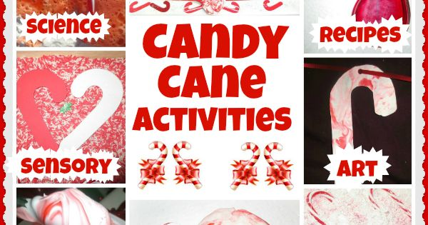 Fun and festive candy cane activities for kids from Growing A Jeweled