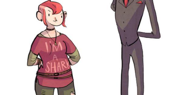 Character Design Intern : Nimona is the least qualified intern ballister looks