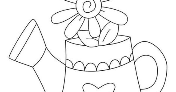 Coloring pages watering can this will print full