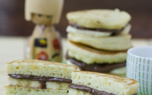 Nutella, Pancakes and Sandwiches on Pinterest