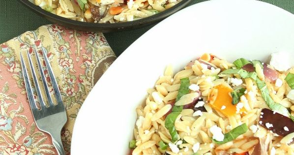Your new go to summer salad orzo with roasted vegetables Ina garten summer pasta