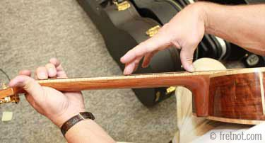 How Do I Adjust My Acoustic Guitar S Truss Rod Acoustic Guitar Acoustic Learn Acoustic Guitar