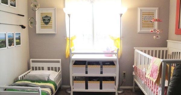 Boy girl shared bedroom idea